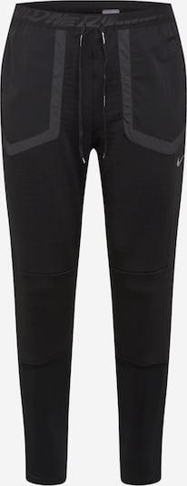 NIKE Športne hlače 'Phenom Elite Wild Run' | temno siva / črna barva, Prikaz izdelka
