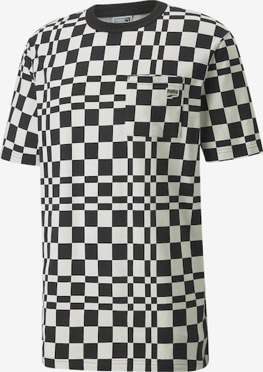 PUMA T-Shirt in schwarz / weiß, Produktansicht