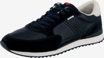 Sneaker low 'Elard' LLOYD pe albastru noapte / roșu / alb murdar, Vizualizare produs