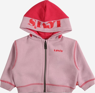LEVI'S Sweatjacke in pastelllila / pink, Produktansicht