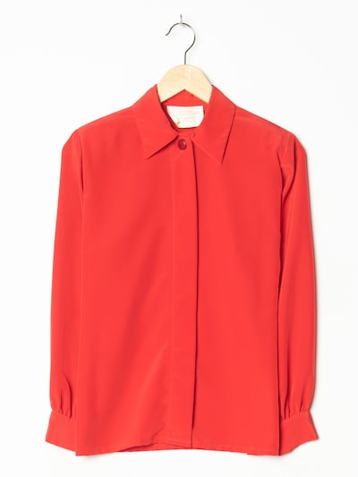 Country Sophisticates Bluse in S-M in rot, Produktansicht