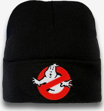 LOGOSHIRT Strickmütze 'Ghostbusters' in schwarz, Produktansicht