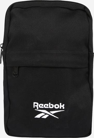 Reebok Classic Чанта за през рамо тип преметка в черно / бяло, Преглед на продукта