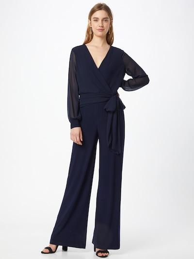 Lauren Ralph Lauren Combinaison 'EVANGALINE' en bleu marine, Vue avec modèle