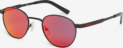 DUCATI Eyewear Zonnebril in de kleur Rood / Zwart, Productweergave