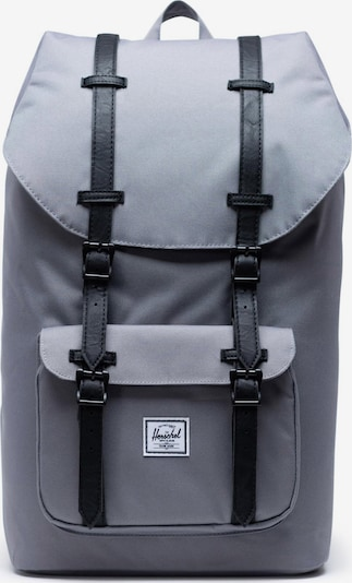 Herschel Backpack 'Little Amerika' in Grey / Black, Item view