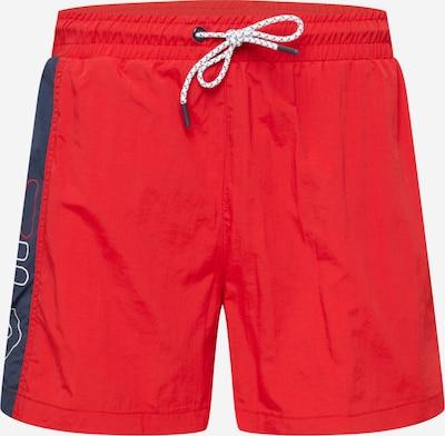 FILA Plavecké šortky 'YAGO' - tmavě modrá / červená / bílá, Produkt