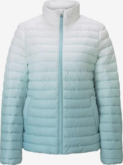 TOM TAILOR Between-Season Jacket in Light blue / White, Item view
