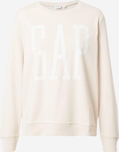 GAP Sweat-shirt en crème / blanc, Vue avec produit