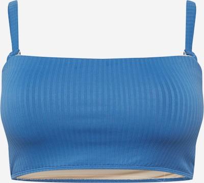 Cotton On Curve Bikinitop in blau, Produktansicht