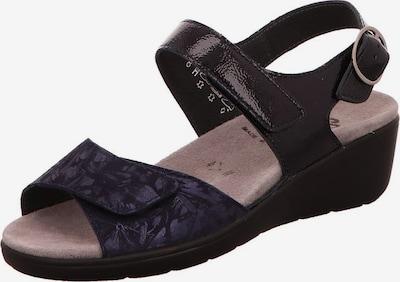 SEMLER Sandale in nachtblau, Produktansicht