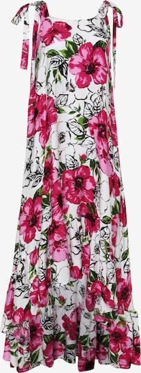Madam-T Summer Dress 'Percama' in Light green / Pitaya / Light pink / Black / White, Item view