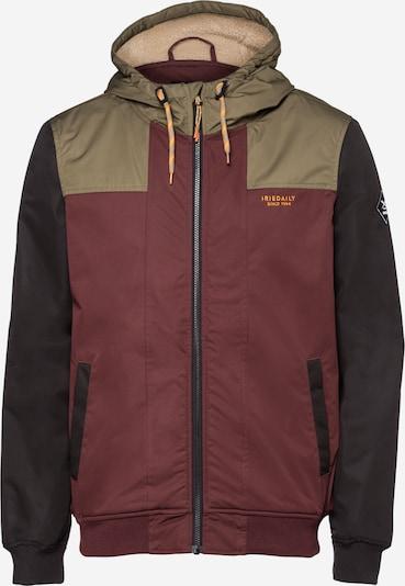 Iriedaily Prechodná bunda - krémová / hnedá melírovaná / kaki / čierna, Produkt
