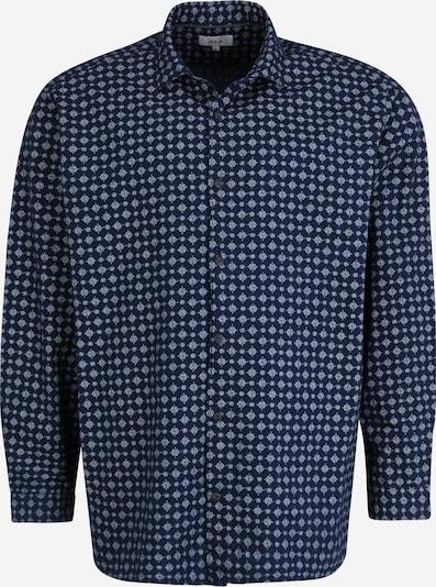 s.Oliver Hemd in blau / weiß, Produktansicht