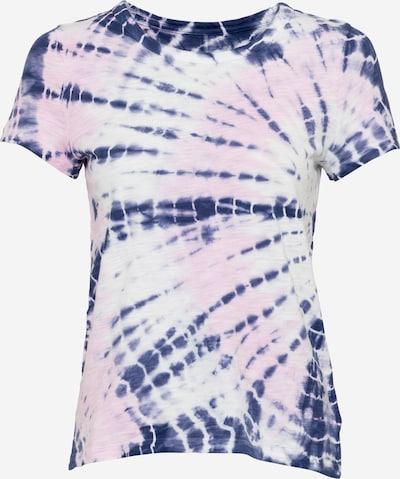 GAP Тениска в нейви синьо / бледорозово / бяло: Изглед отпред