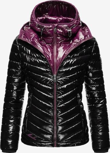 MARIKOO Jacke 'Lennjaa' in rotviolett / schwarz, Produktansicht