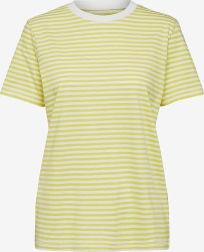 SELECTED FEMME Koszulka w kolorze żółty / białym, Podgląd produktu