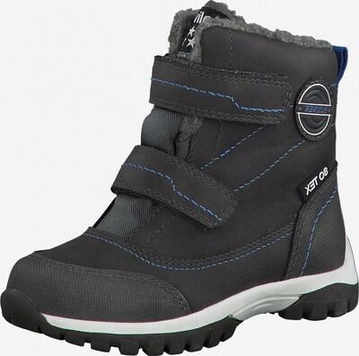 s.Oliver Junior Snowboots in blau / dunkelgrau, Produktansicht