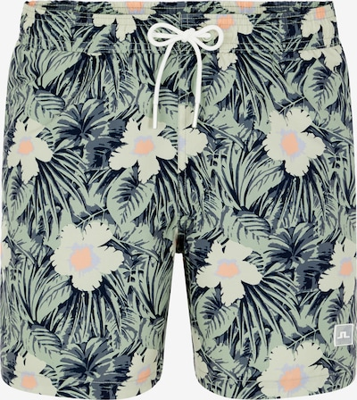 J.Lindeberg Board Shorts in Dusty blue / Khaki / Apricot, Item view