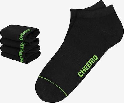 CHEERIO* Ponožky 'SNEAKER PAL 4P' - černá, Produkt