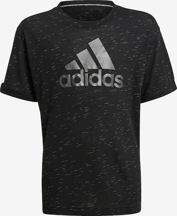 ADIDAS PERFORMANCE Performance Shirt 'Bos' in Black