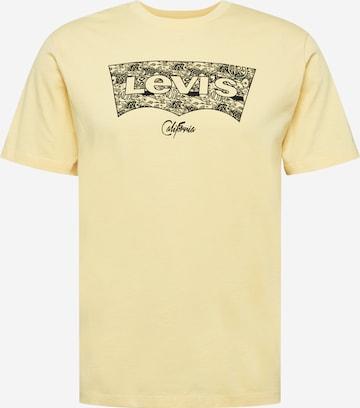 LEVI'S Paita 'HOUSEMARK' värissä keltainen