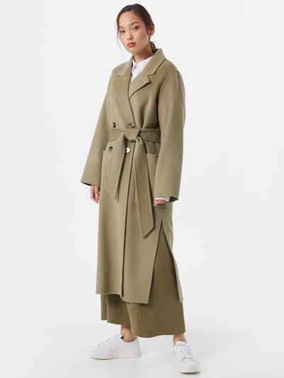 IVY & OAK Manteau mi-saison en vert, Vue avec modèle