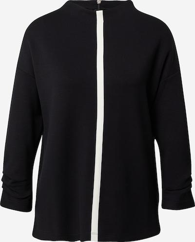 s.Oliver BLACK LABEL Shirt in de kleur Zwart / Wit, Productweergave