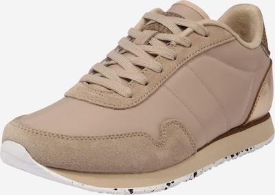 WODEN Sneakers laag 'Nora III' in de kleur Sand / Goud, Productweergave
