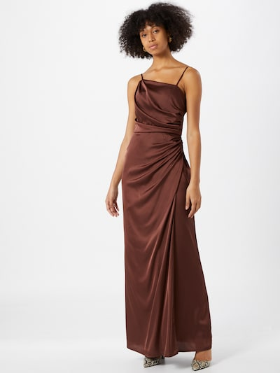 TFNC Kleid 'Lylah' in braun, Modelansicht