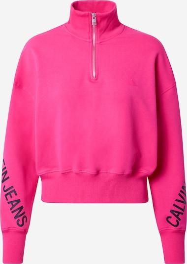 Megztinis be užsegimo iš Calvin Klein Jeans , spalva - tamsiai mėlyna / rožinė, Prekių apžvalga