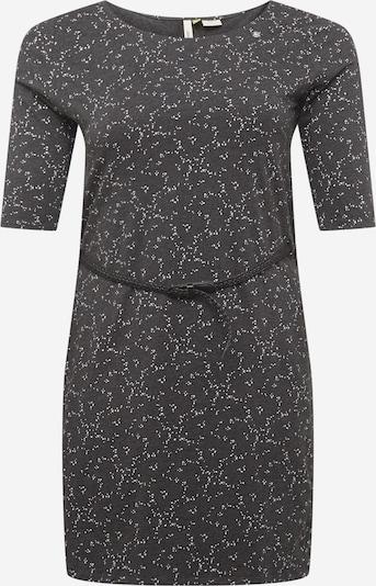 Ragwear Plus Kleid 'TAMY B' in dunkelgrau / weiß, Produktansicht