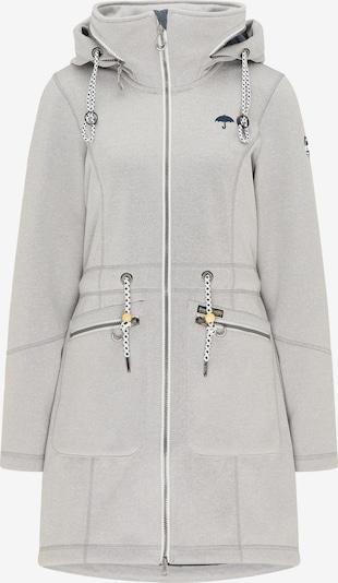 Schmuddelwedda Functionele mantel in de kleur Lichtgrijs / Wit, Productweergave