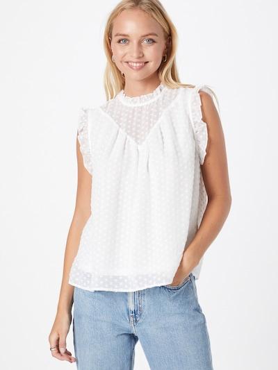 ONLY Bluse 'Felice' in weiß, Modelansicht