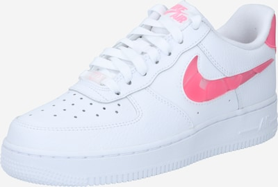 Nike Sportswear Sneakers laag 'Air Force 1' in de kleur Neonroze / Wit, Productweergave