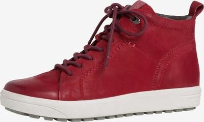 JANA Sneaker in dunkelrot, Produktansicht