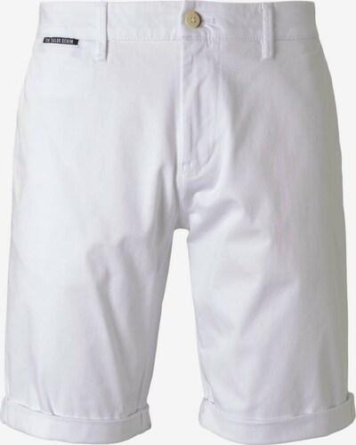 TOM TAILOR DENIM Chino in de kleur Wit: Vooraanzicht