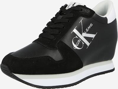 Sneaker înalt Calvin Klein Jeans pe negru / alb, Vizualizare produs