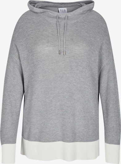 Pullover Rock Your Curves by Angelina K. di colore grigio sfumato / bianco, Visualizzazione prodotti