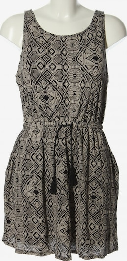 Lucky Brand Minikleid in M in hellgrau / schwarz, Produktansicht