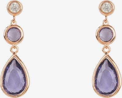 Latelita Boucles d'oreilles en violet, Vue avec produit