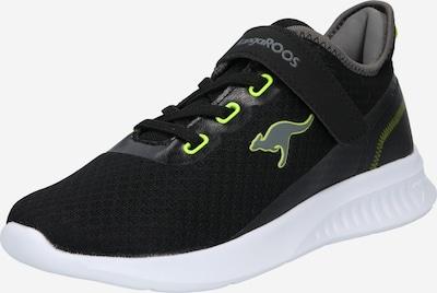 KangaROOS Sneaker in neongelb / stone / schwarz, Produktansicht