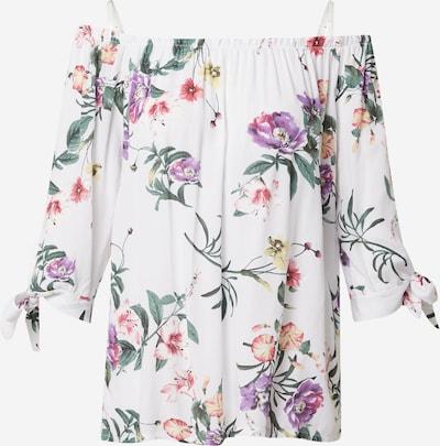 Hailys Shirt 'Lotty' in mischfarben / weiß, Produktansicht
