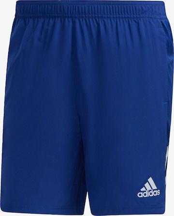 Pantalon de sport 'Run Club Run It' ADIDAS PERFORMANCE en bleu