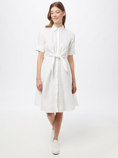 Rochie tip bluză 'Wakana' Lauren Ralph Lauren pe alb, Vizualizare model