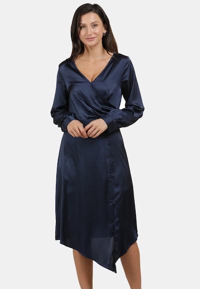 usha BLACK LABEL Kleid in nachtblau, Modelansicht