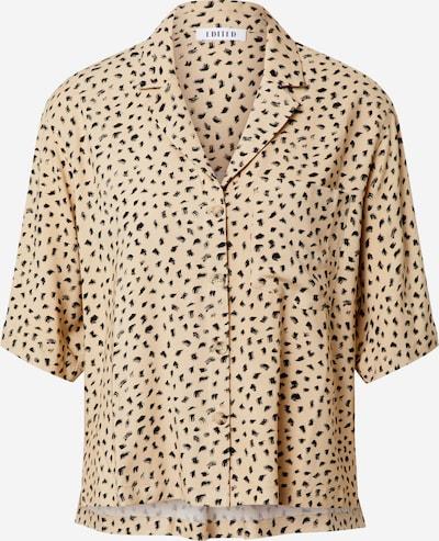 EDITED Bluse 'Gabriela' in beige / schwarz, Produktansicht