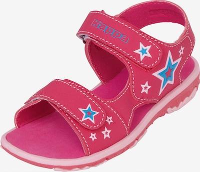 KAPPA Sandály 'STARWAY' - královská modrá / fuchsiová / bílá, Produkt
