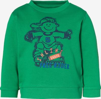 JACKY Sweatshirt in blau / grün / orange / weiß, Produktansicht