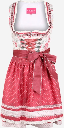 Krüger Madl Dirndl in mixed colours / light red, Item view